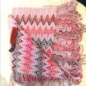 Missoni Foulard Orange Label wrap scarf-ITALY